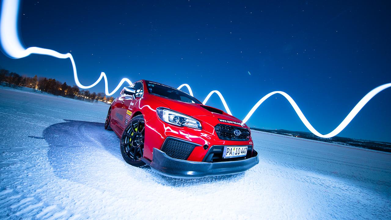 Swedish WInter Ice Rallying/Drifting Experience